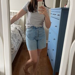 Mom shorts! 90's a-line style